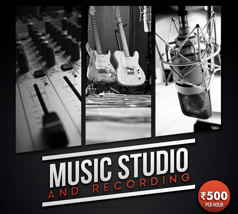 TP Music Studio & Recording Banner